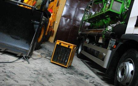 Nagrzewnica Master B 5 ECA - ogrzewanie garażu